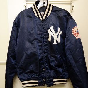 Vintage New York Yankees Satin Starter Jacket